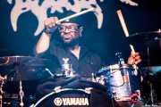 Bill Ransom, baterista de Beth Hart (Mundaka Festival, Mundaka, 2017)