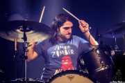 Felix Buff, baterista de Willis Drummond (Mundaka Festival, Mundaka, 2017)