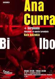 Cartel de Ana Curra presenta El Acto (Kafe Antzokia, Bilbao, )