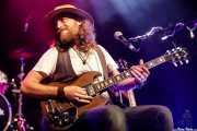James Room, cantante y guitarrista de James Room & Weird Antiqua (Bilborock, Bilbao, 2017)