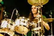"""Iñigo """"Indigo"""" L. Agudo, baterista de James Room & Weird Antiqua (Bilborock, Bilbao, 2017)"""