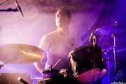 Chavi Marco, baterista de Vulk (Aste Nagusia - Algara Txosna, Bilbao, 2017)