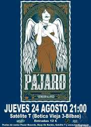 Cartel de Pájaro (Satélite T, Bilbao, )