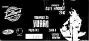 Vurro, one man band (Satélite T, Bilbao, )