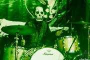 El Bravo, baterista de Los Tiki Phantoms (Festivalle Tobalina, Quintana Martín Galíndez, 2017)