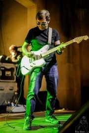 Pat Harrizelay, guitarrista de La Secta (Festivalle Tobalina, Quintana Martín Galíndez, 2017)