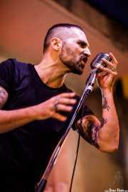 Al Navarro, cantante y guitarrista de The Boo Devils (Festivalle Tobalina, Quintana Martín Galíndez, 2017)