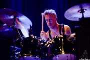 Phil Puleo, baterista de Swans (Kafe Antzokia, Bilbao, 2017)