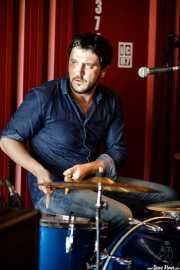 Mark Percy, baterista de The Cubical (Satélite T, Bilbao, 2017)