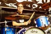 Enric Foll, baterista de The Meows (Funtastic Dracula Carnival, Benidorm, 2017)
