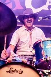 Nate Mahan, baterista de Shannon and The Clams (Funtastic Dracula Carnival, Benidorm, 2017)