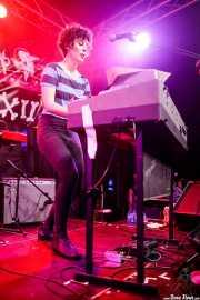 Sally Coppola, organista de  Jon and The Vons (Funtastic Dracula Carnival, Benidorm, 2017)