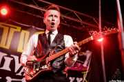 George Miller, guitarrista y cantante de The Kaisers (Funtastic Dracula Carnival, Benidorm, 2017)