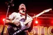 Jack Daves, cantante, guitarrista de Dirty Fences (Funtastic Dracula Carnival, Benidorm, 2017)