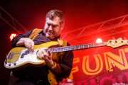 John Davis, bajista de The Gruesomes (Funtastic Dracula Carnival, Benidorm, 2017)