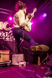 Pat Beers, cantante y guitarrista de The Schizophonics (Funtastic Dracula Carnival, Benidorm, 2017)