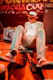 Rick Miller, cantante y guitarrista de Southern Culture on the Skids (Funtastic Dracula Carnival, Benidorm, 2017)