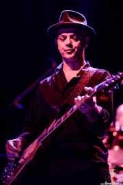 James Mastro, guitarrista de Ian Hunter & The Rant Band (Kafe Antzokia, Bilbao, 2017)