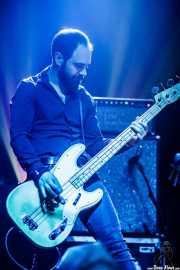 Mickey Malaga, bajista de The Limiñanas (Kafe Antzokia, Bilbao, 2017)