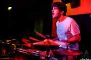 Asier San Sebastián, baterista de Albert Cavalier (Shake!, Bilbao, 2017)