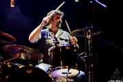 Alberto Chamorro, baterista de Los Brazos (Bilborock, Bilbao, 2017)