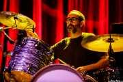 Mikel Abrego, baterista de Anari (BIME festival, Barakaldo, 2017)