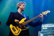 Bajista de Mark Eitzel (BIME festival, Barakaldo, 2017)