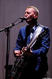 Jochen Arbeit, guitarrista de Einstürzende Neubauten (BIME festival, Barakaldo, 2017)