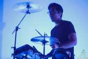 Igor Escudero, baterista de Delorean (BIME festival, Barakaldo, 2017)
