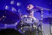 Leo Crabtree, baterista en gira de The Prodigy (BIME festival, Barakaldo, 2017)