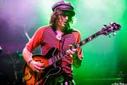 Dylan Whitlow, bajista de Blackfoot Gypsies (Kafe Antzokia, Bilbao, 2017)
