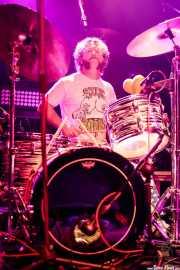 Zack Murphy, baterista de Blackfoot Gypsies (Kafe Antzokia, Bilbao, 2017)