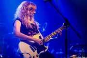 Carla Santacreu, cantante y guitarrista  de The Lizards (Kafe Antzokia, Bilbao, 2017)