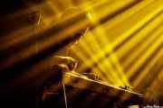 Malcolm Troon, guitarrista, pedal steel guitar de Jim Jones and The Righteous Mind (Santana 27, Bilbao, 2017)