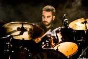 Danel Tralara, baterista de Dead Bronco (Santana 27, Bilbao, 2017)