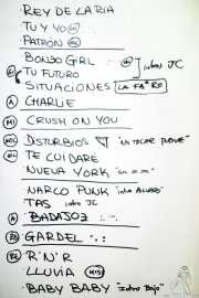 Setlist de Bonzos (Kafe Antzokia, Bilbao, 2018)
