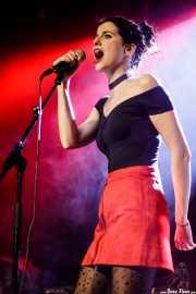 Ane Martínez, cantante de Anita Parker (Sala Stage Live (Back&Stage), Bilbao, 2018)