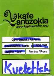 PhotoPass de Kvelertak (Kafe Antzokia, Bilbao, )
