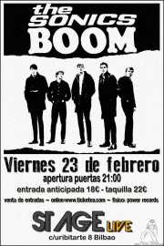 Cartel de The Sonics (Sala Stage Live (Back&Stage), Bilbao, )