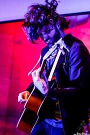 Matt Horan, cantante y guitarrista de Dead Bronco (Nave 9 (Museo marítimo), Bilbao, 2018)
