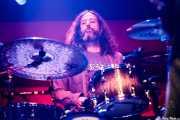Tony Leone, baterista de Chris Robinson Brotherhood (Kafe Antzokia, Bilbao, 2018)