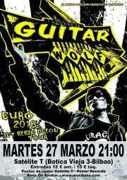 Cartel  de Guitar Wolf (Satélite T, Bilbao, )