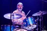 Zigor Akixo, baterista de The Allnighters (Kafe Antzokia, Bilbao, 2018)