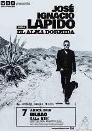Cartel de Lapido (Sala BBK, Bilbao, )