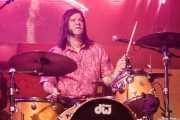 Tommy Gonzalez, baterista de The Peawees (FuzzVille - Magic Robin Hood Resort, Alfaz del Pi, 2018)