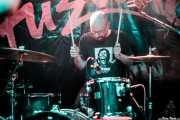 Don Matías, baterista de Terrier (FuzzVille - Magic Robin Hood Resort, Alfaz del Pi, 2018)