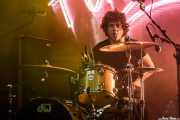 Ral García, baterista de Los Chicos (FuzzVille - Magic Robin Hood Resort, Alfaz del Pi, 2018)