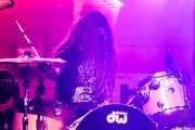 Jake Pringle, baterista de The Cavemen (FuzzVille - Magic Robin Hood Resort, Alfaz del Pi, 2018)