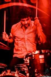 Quique Gallo, baterista de Aullido Atómico (FuzzVille - Magic Robin Hood Resort, Alfaz del Pi, 2018)