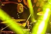 Tomás E. Panzone, baterista de Heatwaves (FuzzVille - Magic Robin Hood Resort, Alfaz del Pi, 2018)